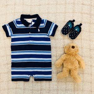 Ralph Lauren Romper, baby boy, 3 months, NWT